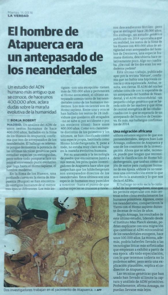Atapuerca y los Neandertales